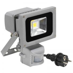 LED VALONHEITIN 600 LM 10W /230V LIIKETUNNISTIN